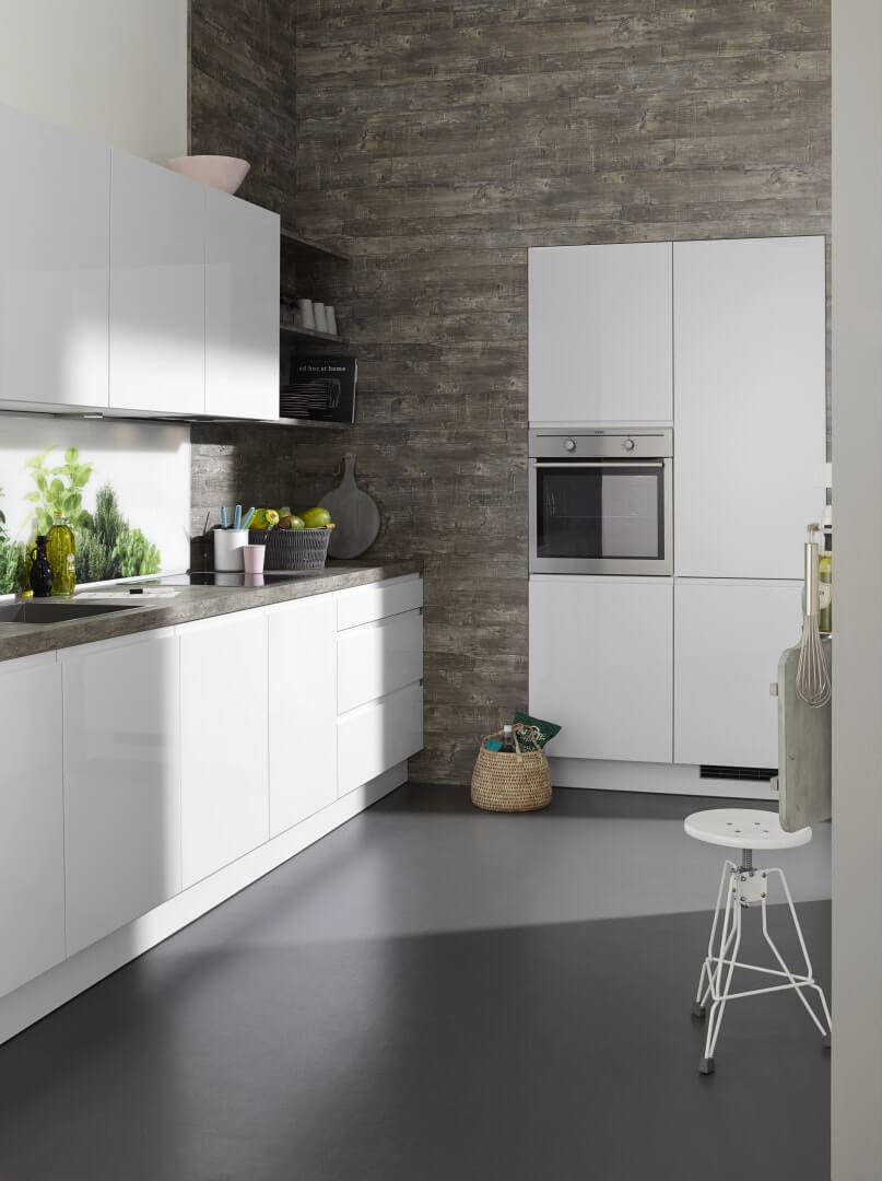 jakie fronty kuchenne wybrać - lakierowane