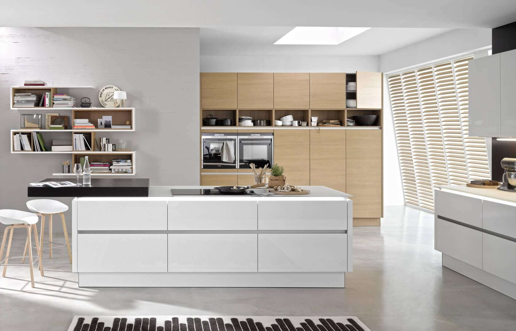 szuflady kuchenne kuchnia nowoczesna
