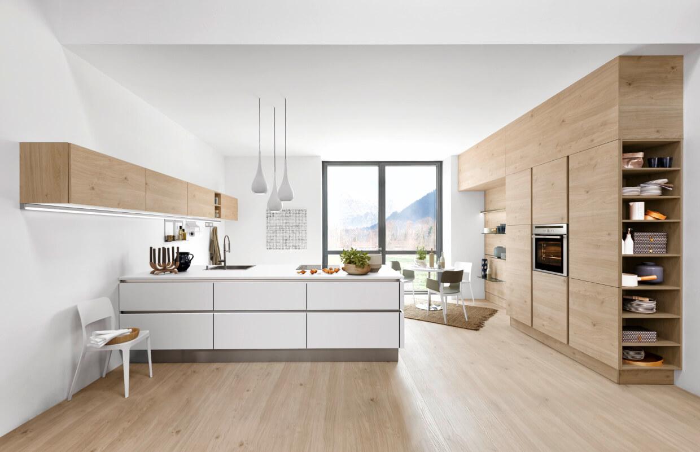 kuchnie fornirowane mdf czy drewniane jakie fronty